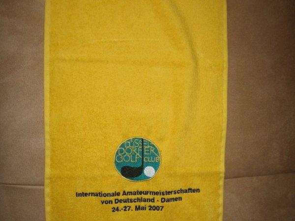 Personalisiertes Handtuch Topline GmbH Dittenheim